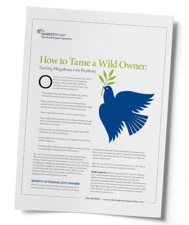 How to Tame a Wild Owner White Paper